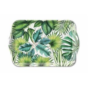 Ambiente dienblad Tropical Leaves 13x21cm