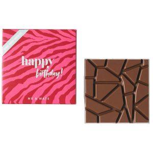 me&mats chocolade happy birthday
