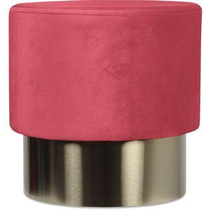 Opjet poef serge glamour roze klein