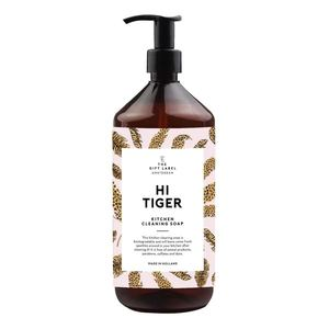 The Gift label Kitchen Cleaning Soap Hi Tiger