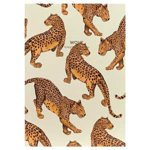 WOUF Leopard Notitieboek A6