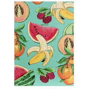WOUF Tutti Frutti Notitieboek A5