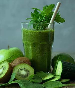 Chlorophyll smoothie