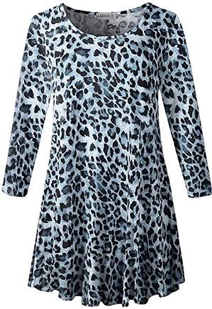 LARACE 3/4 sleeve tunic top | 40plusstyl.e.com