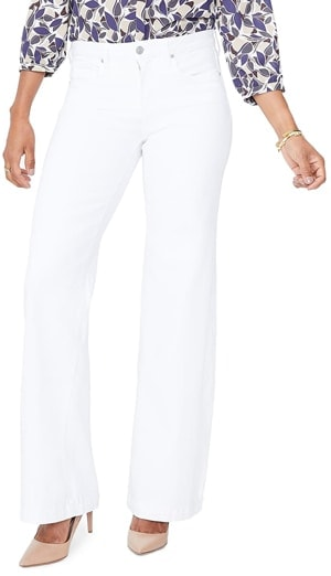 NYDJ wide leg trousers | 40plusstyle.com