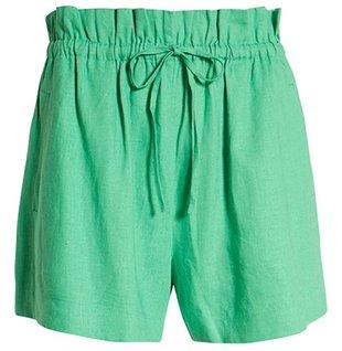 Open Edit paperbag waist shorts | 40plusstyle.com