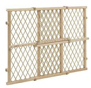 2. Evenflo Position and Lock Wood Gate