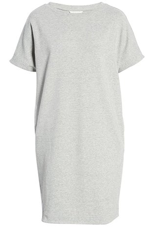Summer dresses for women over 50 -Caslon Crewneck T-Shirt Dress | 40plusstyle.com