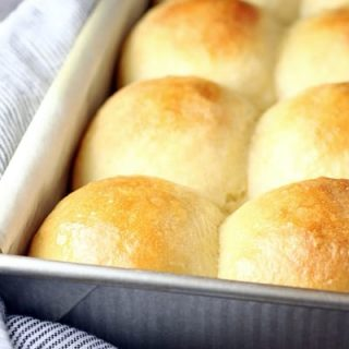 Fluffy No-Knead Dinner Rolls