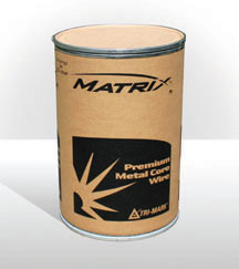 Image of a Matrix drum holding wire