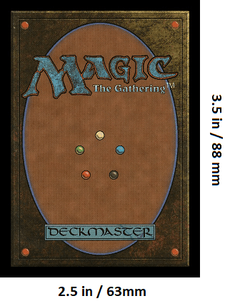 graphic relating to Mtg Printable Proxies identified as MTG Card Measurement: What Are The MTG Card Sizing? - Card Match