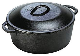 9. Lodge L8DOL3 Pre-Seasoned Cast-Iron Dutch Oven