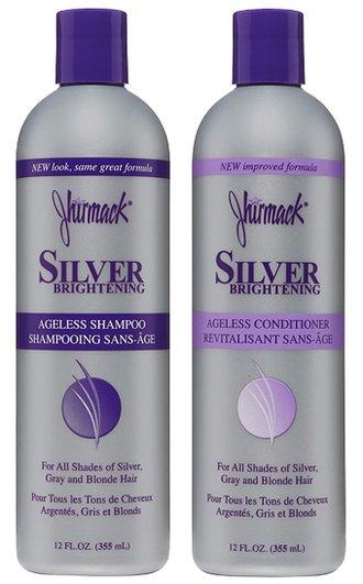 Jhirmack Silver Brightening Ageless Shampoo Set   40plusstyle.com