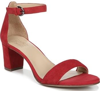 Naturalizer 'Vera' ankle strap sandal | 40plusstyle.com