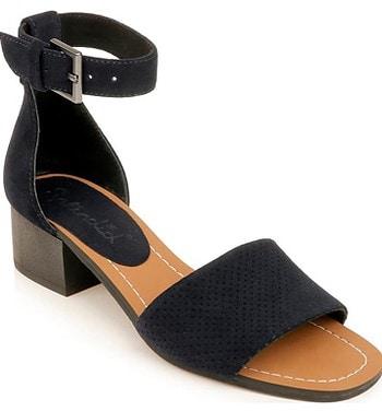 Splendid ankle strap sandal | 40plusstyle.com