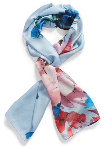 rectangle scarf   40plusstyle.com