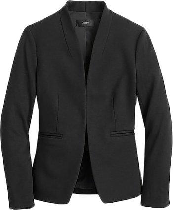 J.Crew blazer in stretch twill | 40plusstyle.com