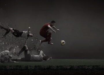 Cristiano Ronaldo Leaves a Vapor Trail