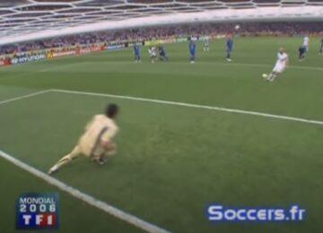 Zidane Penalty Kick World Cup Final