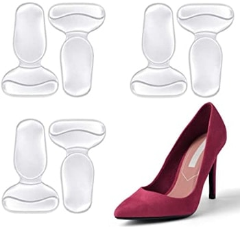 FOCONEE high heel cushion silicone shoe pads | 40plusstyle.com