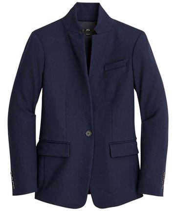 J.Crew stretch blazer | 40plusstyle.com