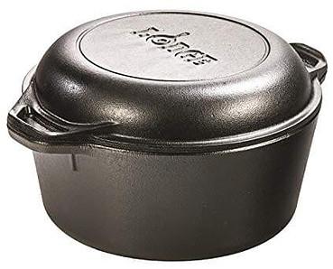 4. Lodge L8DD3 Cast Iron Dutch Oven,