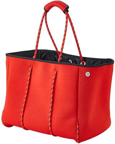 Best beach bags - RIRO Neoprene Beach Bag | 40plusstyle.com