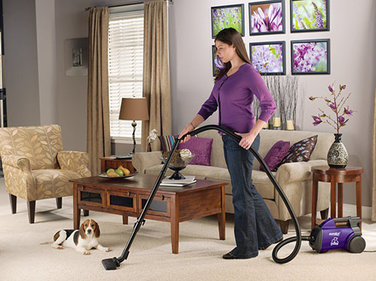 10. Eureka Mighty Mite Canister Vacuum