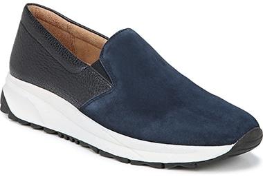 Best sneakers for plantar fasciitis - Naturalizer Selah Slip-On Sneaker | 40plusstyle.com