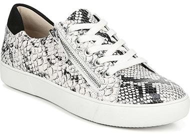 Best sneakers for plantar fasciitis - Naturalizer Macayla Sneaker | 40plusstyle.com