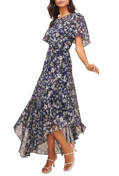 ASTR the Label floral print dress   40plusstyle.com