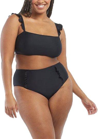 Summersalt The Ruffle Oasis Bikini Top / The Ruffle Oasis Bikini Bottom   40plusstyle.com