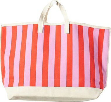 Anthropologie Kule Striped Tote Bag | 40plusstyle.com