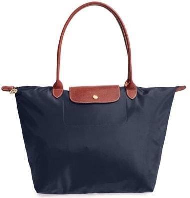 Longchamp tote   40plusstyle.com