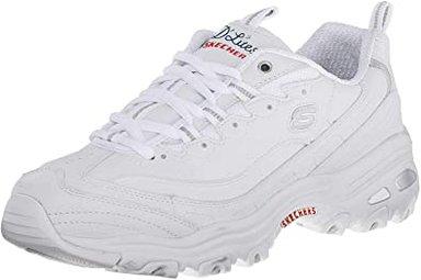 Skechers D'Lites Memory Foam Sneaker | 40plusstyle.com