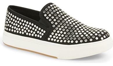 Steve Madden studded slip-on sneaker | 40plusstyle.com