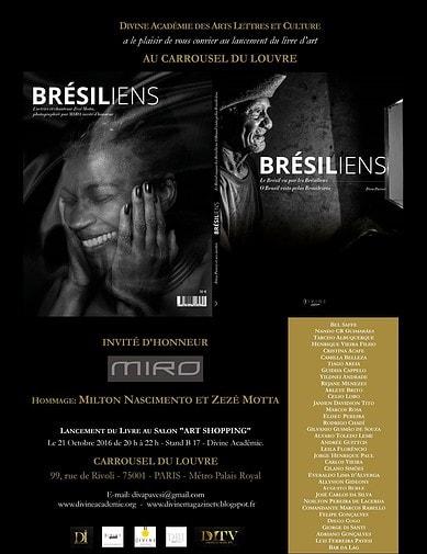 """Livro """"Les Brésiliens vus par les Brésiliens""""  (Os Brasileiros vistos pelos Brasileiros), com artes de Henrique Vieira Filho"""
