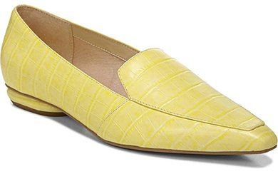 Franco Sarto leather loafer | 40plusstyle.com