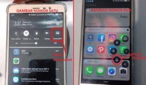 Cara Screenshot HP Android Xiaomi