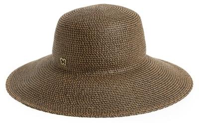 Eric Javis large brim hat | 40plusstyle.com