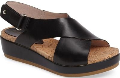 Pikolinos Mykonos platform sandal | 40plusstyle.com