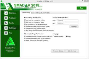 Cara Aktivasi SMADAV Menjadi Pro