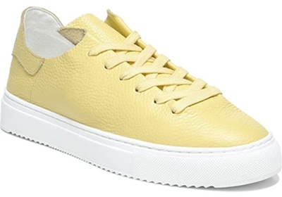 Sam Edelman leather sneaker | 40plusstyle.com
