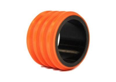 Polyurethane-wheel-bonded-to-composite