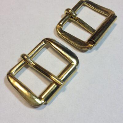Пряжка 20 мм золото