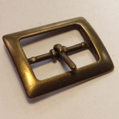 Пряжки для женских ремней 25 мм старая латунь