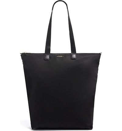 Tumi Just in Case® North/South Packable Nylon Tote | 40plusstyle.com