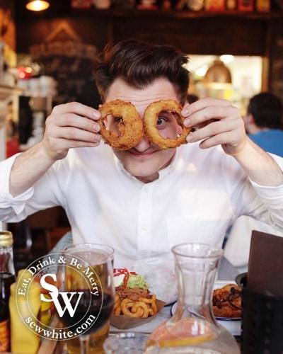 Sew White Burger Shack The Loft Wimbledon review 5