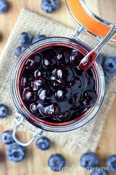 Easy Blueberry Sauce