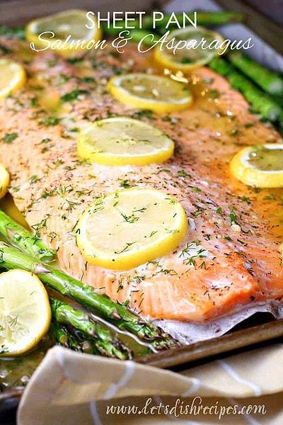 Sheet Pan Salmon and Asparagus